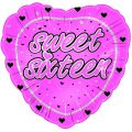 16th Birthday Pink 18 Inch Foil Balloon