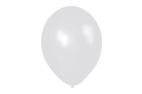 11 Inch Silver Metallic Balloons (packquantity8)