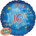 Happy 16th 18 Inch Foil Balloon
