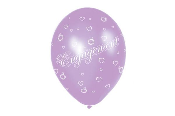 11 Inch Engagement Balloons (packquantity6)