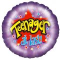 Teenager 18 Inch Foil Balloon