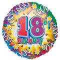 18th Birthday 18 Inch Foil Balloon