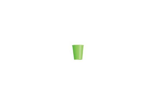 Lime Green 9oz Cups (packquantity14)