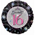 Sweet Sixteen 18 Inch Foil Balloon