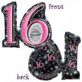 Sweet 16 Jumbo Foil Balloon