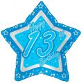 13th Birthday 18 Inch Foil Balloon