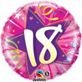 18th Shining Star 18 Inch Foil Balloon