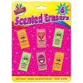 Scented Erasers (packquantity6)