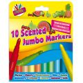 Scented Jumbo Markers (packquantity10)